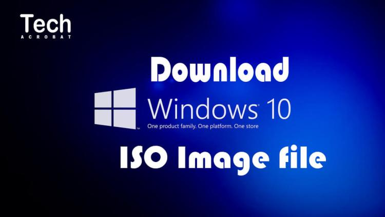 How To Download Windows 10 ISO file from Microsoft Without Key