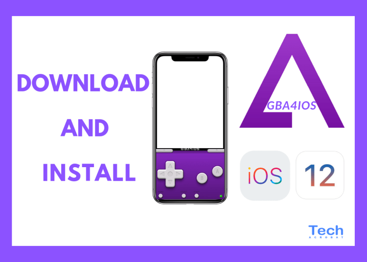 Download and Install Emulator GBA4IOS iOS 12 - 12 2 [Full