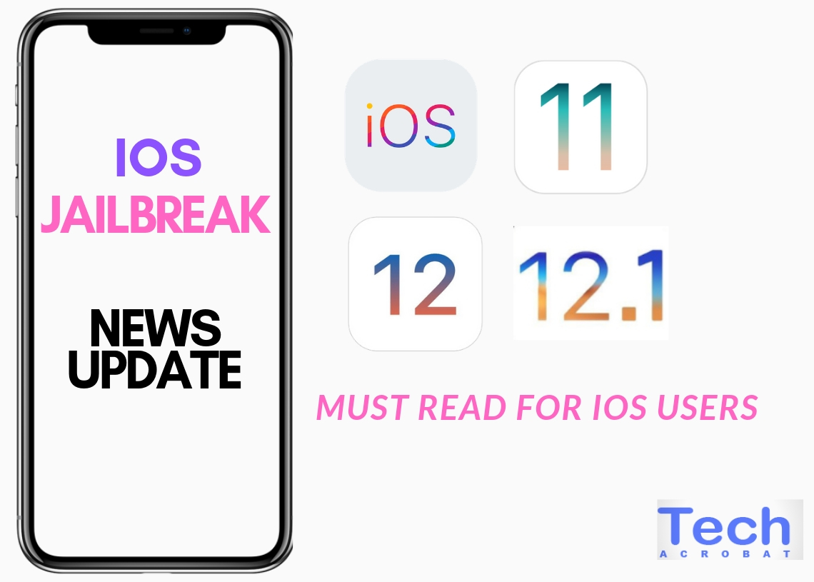Jailbreak iOS Update iOS 12 / 12 0 1 /12 1/ iOS 12 1 2 [Updated]