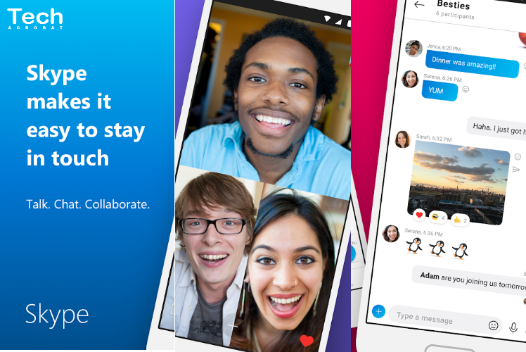 skype video chat apps