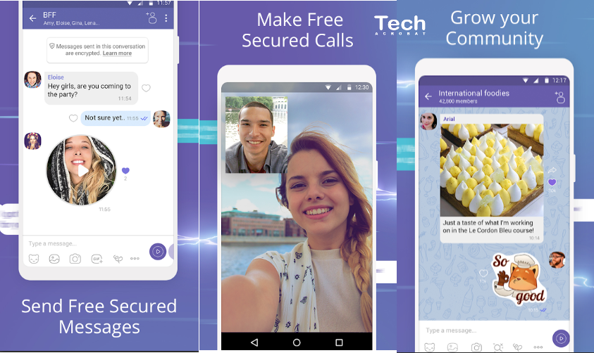 Top 12 Free Video Chat Apps For Android and iOS 2019 - Tech Acrobat
