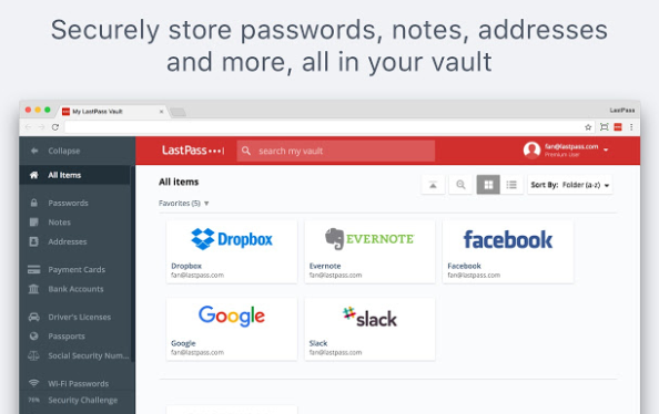 password manager chrome