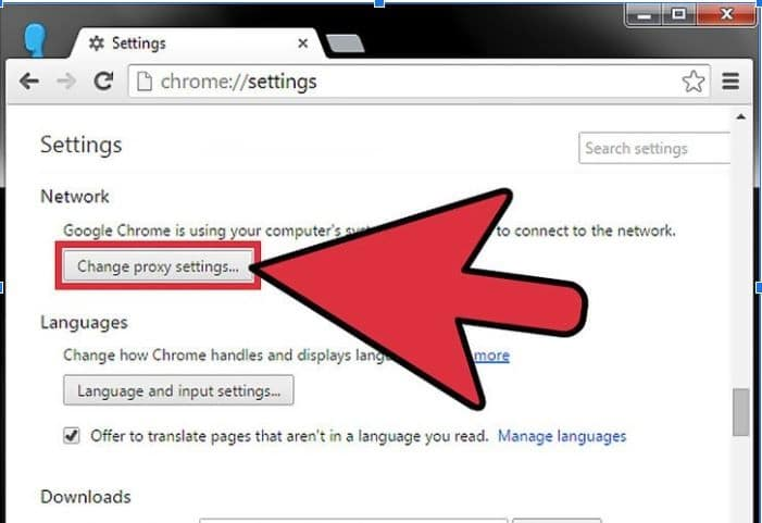 How To Find Proxy Server Google Chrome How to Change or