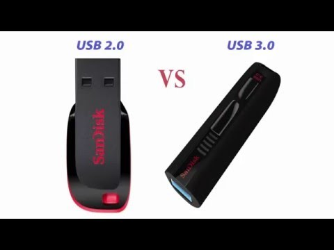difference between USB 3.0 and 2.0
