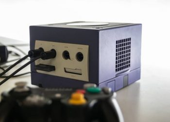 gaming PC within an old GameCube