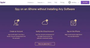 spy on an iPhone without installing any software