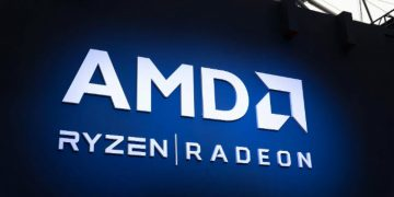 AMD's share price climed up