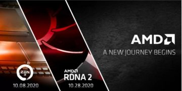 AMD confirms Radeon 6000 reveal and Zen 3 launch for October