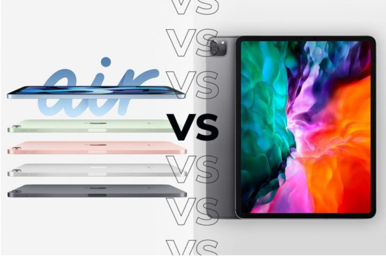 Apple iPad Air 4 vs Apple iPad Pro 2020: A comparison of four top features