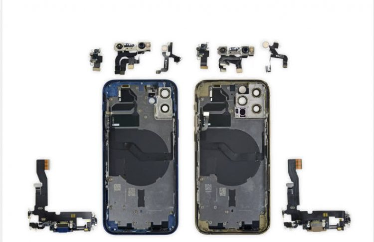 iFixit teardown disclose iPhone 12 and 12 Pro screens are interchangeable