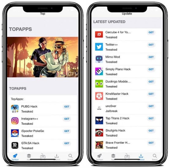 3rd party app store ios 14.6 topstore