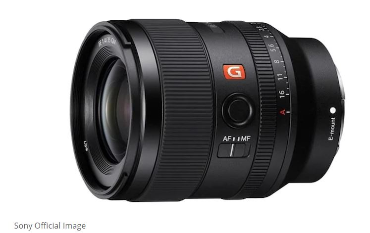 For E-mount camera systems, Sony released FE 35mm F1.4 GM lens