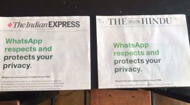 WhatsApp privacy concerns