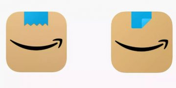 After receiving complaints, the logo looks like Hitler, Amazon has altered it